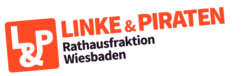 LINKE&PIRATEN Rathausfraktion Wiesbaden - Logo